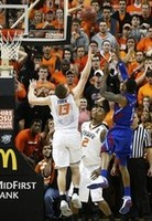Kansas Beats Oklahoma State in 2OT