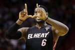 LeBron's Winner Gives Miami 16 in a