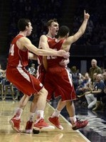 Badgers' Jackson Hits Buzzer-Beater