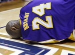 Kobe Bryant Injures Ankle in Atlant