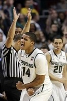 Spartans Come Back to Beat Iowa