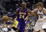 Kobe Drops 31 on Timberwolves