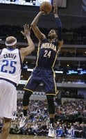 Paul George, Pacers Roll over Dalla