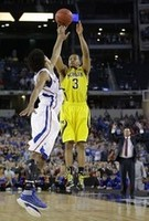 Trey Burke's Deep, Game-Saving Thre