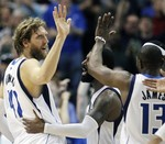 Nowitzki Hits Three for the Win