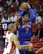 Carmelo Tallies 50 in Miami
