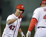 Gio Gonzalez Homers in Nats' Second