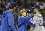 Zack Greinke Injured in Brawl