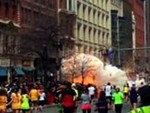 Explosions at Boston Marathon Finis