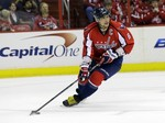 Ovechkin, Capitals Win 8th in a Row