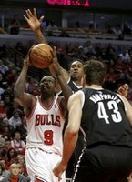 Bulls Edge Nets in Game 3