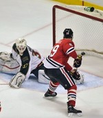 Blackhawks Take Game 1 in Overtime