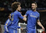 David Luiz Blasts Curling Goal
