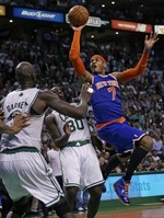 Knicks Stave Off Boston to Win Seri