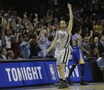 Ginobili Hits Game-Winner in Double