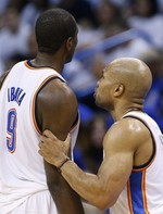 Derek Fisher Turnover Costs OKC in