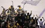 Bruins Win Series on Overtime Goal