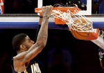 Paul George Soars for Two-Handed Ja