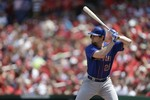 Daniel Murphy Hits Ball into Wall