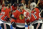 Chicago Hangs On with 4-1 Win