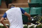 Youzhny Destroys Racket in French O