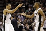Gary Neal Leads Spurs Barrage of Th