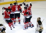 Shaw's Deflection Lifts Blackhawks