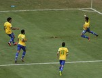 Neymar Scores First Goal of Confede