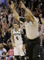 Danny Green Sets NBA Finals Record