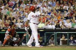 Ryan Howard Hits Birthday Home Run