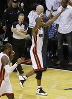 Bosh Block Seals Game 6 Win
