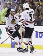 Blackhawks Even Series With 6-5 OT