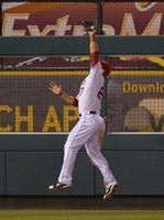 Trout Lays Out for Catch