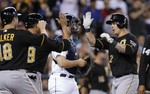 Pirates Win, Tie St. Louis for Divi