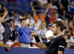 Wawrinka Finishes Off Berdych