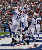 Rookie Manuel Leads Bills to Last-S
