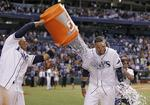 Rays' Loney Homers to Sweep O's
