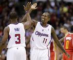 Chris Paul, Clippers Hand Houston F