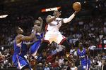 Wade Leads Heat Against Clippers