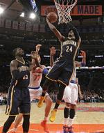 George, Pacers Top Knicks at MSG