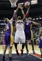 Nene Scores Career-High Against Lak