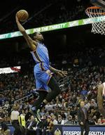 Durant Double-Double Leads Thunder