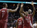 LeBron Leads Heat to Overtime Win