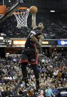 LeBron's Milestone Dunk Against Sac