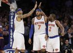 Carmelo, Knicks Win Fifth Straight