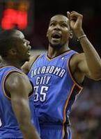 Durant's 36 Leads Thunder Comeback