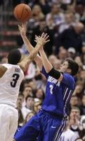 Creighton Hits 21 3s to Beat Villan