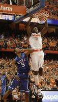Syracuse Tops Duke in Overtime
