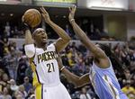 Pacers Roll Over Nuggets