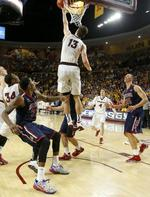 ASU Knocks Off No. 2 Arizona in Ove